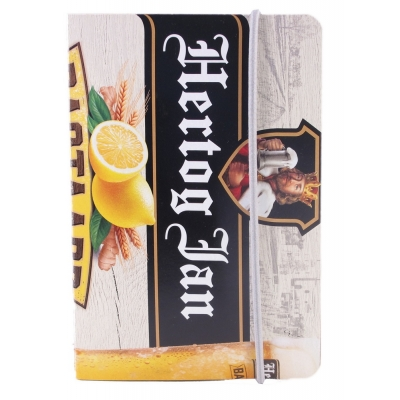 Recycle notitieboekje Hertog Jan bastaard sixpack