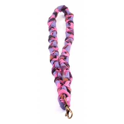 Recycle Keycord - paars/roze/lila