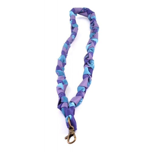 Recycle Keycord - paars/blauw