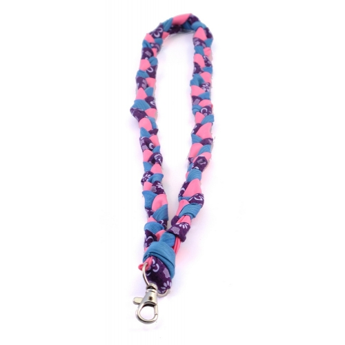 Recycle Keycord - blauw/paars/felroze