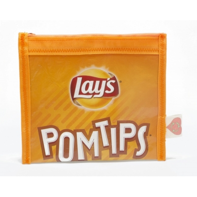 Plastic recycle etui - Lay's Pomtips chips