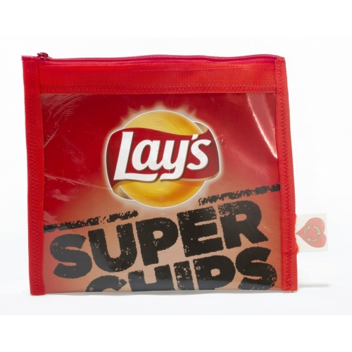 Plastic recycle etui - Lay's superchips naturel