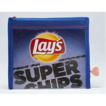 Plastic recycle etui - Lay's superchips paprika