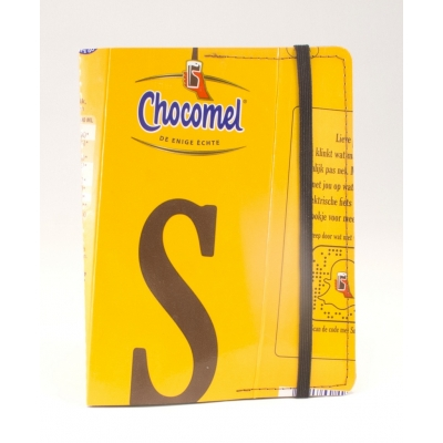 Recycle Paspoorthoesje Chocomel letter S