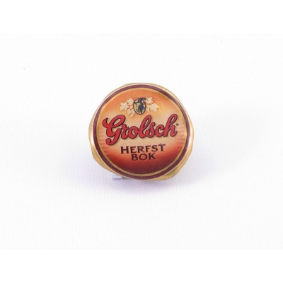 Recycle button Grolsch Herfstbok