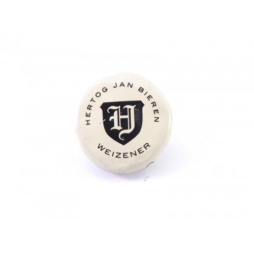 Recycle button Hertog Jan Weizener bier